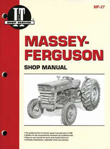 I t Manual Massey ferguson Covers Mf2675 Mf2805 More