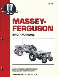 I t Manual For Massey harris Covers Mhf404 Mh444 More
