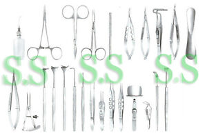 Lid Surgery Set Ophthalmic Medical Surgical Instruments Ey 040