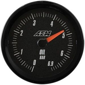 Aem Analog Oil Pressure Gauge 6 9bar 30 5133mb