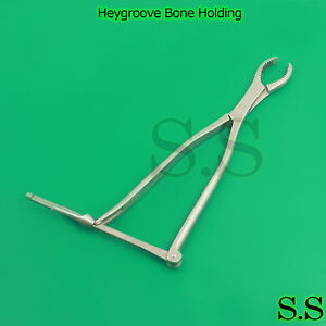 Heygroove Bone Holding Orthopedic Instruments