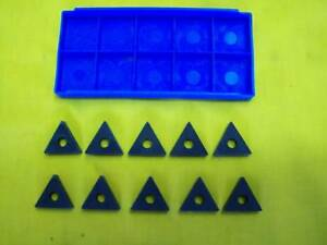 10 New Carboloy Usa Tnma 432 Carbide Inserts Indexable Lathe Mill Cutting Bits