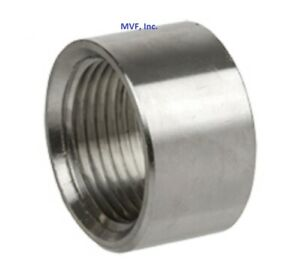4 150 Npt Half Coupling 304 Stainless Steel Pipe Fitting fs091321fn