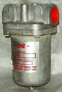 Lenz 1 Hydraulic Suction In Line Filter Dh 1000 100 With Element 5062 100