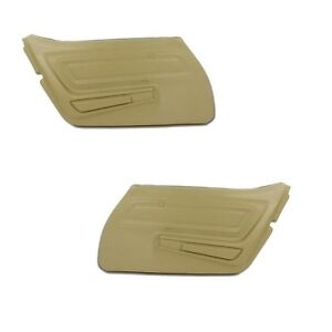 70 77 Corvette Door Panels Pair New All Factory Colors Available
