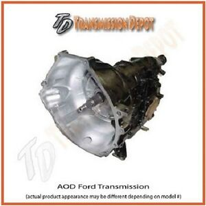 Aod Transmission Mustang Ford Performance 550hp the Demon Stage 1