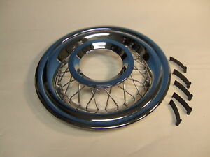 56 Chevy Wire Wheel Cover Complete Set New Gm Chevrolet