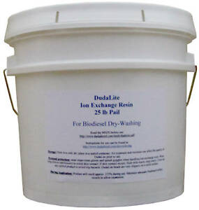 25 Lb Of Biodiesel Dry Wash Resin Beat Amberlite Dw r10
