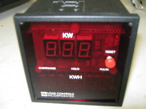 Load Controls Inc Kwh 2 Digital Power Energy Meter