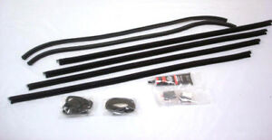 1930 1931 Ford Model A Coupe Sport Coupe Door Window Channel Kit Both Doors