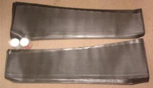 1933 1934 Ford Car Rubber Running Board Covers Cover Set 33 34 Pair W Glue