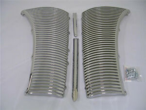 1940 Ford Deluxe Car Chrome Grille Assembly Kit 40 W Center Strip