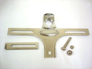 1932 Ford Car Front License Plate Bracket 32 Stainless