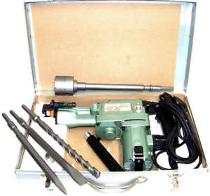 1 1 2 Rotary Hammer Drill With Core Drill Bit Heavy Duty Demolition Power Tool