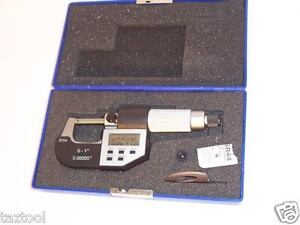 Electronic Digital Micrometer Lcd Machinist Tools Ip54