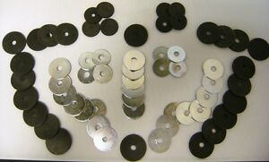 1939 1940 Ford Fender Washer Kit Set Of 60 Pieces Metal Rubber Washers