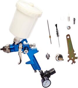 Air Paint Spray Gun Hvlp 2 In 1 Sprayer Paint Gun 1 4 1 7 Nozzle Gravity Feed