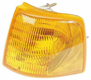 Left Corner Light Fits 93 97 Ford Ranger Pickup Turn Signal Lamp New