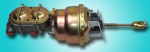 1964 1967 Chevelle 7 Inch Dual Diaphragm Power Brake Booster And Master Combo