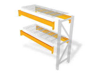 Pallet Racks Teardrop Beams 120 l X 4 h 3 378 Lb Capacity