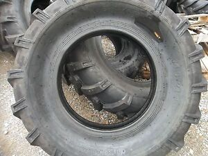 Two 14 9x24 14 9 24 Ford new Holland 8210 Farm Tractor Tires 8 Ply