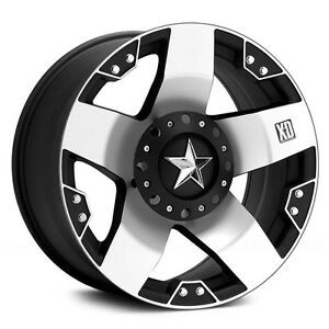 Xd Rockstar 20 Wheels W 305 55 20 Nitto Tires Mud