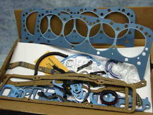 New Felpro Complete Perma Torque 283 302 And The 327 Ci S B Chevy Gasket Set