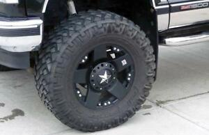 Xd Rockstar 20 Wheels 6x5 5 6x135 W Nitto Tires