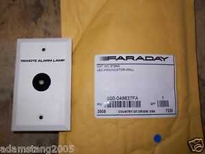 New Faraday 500 048637fa 8726w Led Annunciator Wall