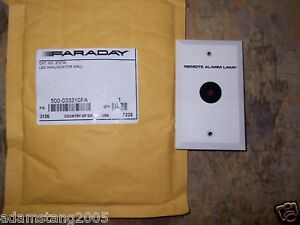 New Faraday 500 033310fa 8727 w Led Annunciator Wall
