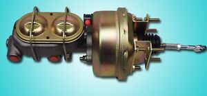 1964 1965 1966 Ford Mustang Power Brake Booster Dual Bowl For Auto Transmission