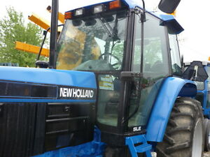 Ford Newholland 6640 Tractor Cab With Air Diesel Motor Three Point P t o