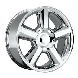 4 New 22x9 Chevrolet Ltz Chrome Wheels