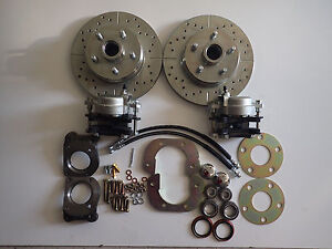 1967 1970 Ford Mustang Mercury Cougar Front Disc Brake Conversion 5 Lug