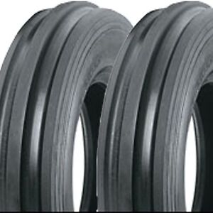 2 4 00 12 400 12 4 00x12 400x12 F 2 Front Tractor Tri Rib Tires Ds5115