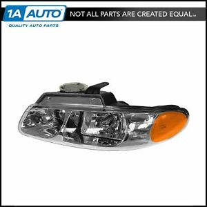Quad Headlight Headlamp Driver Side Left Lh New For Grand Caravan Voyager