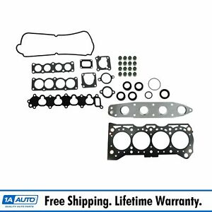 Engine Head Intake Exhaust Manifold Gasket Set For Suzuki Tracker Sidekick 1 6l