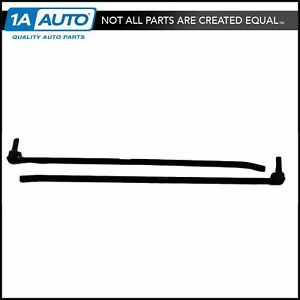Window Sweep Outer Convertibles Lh Rh For 87 93 Ford Mustang