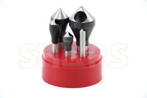 90 Degree Hss Zero Flute Countersinks Deburring Tools New