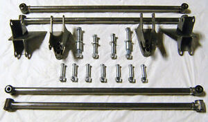 Universal Street Hot Rod Parallel Rear Four Link Kit 4 Bar Kit 32 1 2 Bars Nice