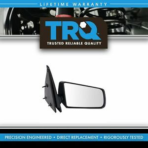 Trq 3x5 Manual Mirror Passenger Side Rh For Gmc S 15 Chevy S10 Pickup Truck