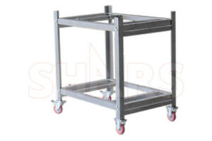 Shars 36x24 Steel Rolling Inspection Surface Plate Stand 24 x36 36 Height New