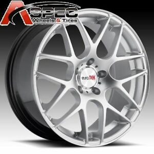 19 Staggered P40 Style Wheels 5x120 Rim Fit Bmw 330 335