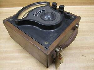 General Electric 3680915 Vintage Industrial Amp Meter W o Lid Antique