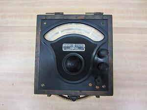 General Electric 3716554 Antique Amp Meter Vintage Industrial 39047