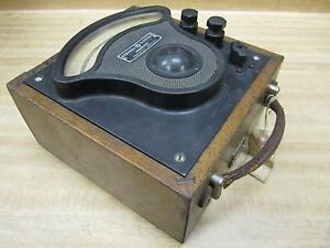 General Electric 3675323 Vintage Industrial Amp Meter W o Lid Antique