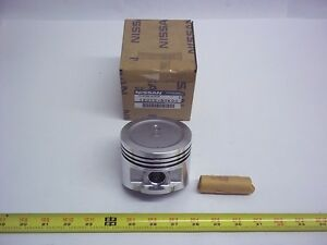 12010 50k00 Nissan Forklift Piston with Pin Lot Of 2 1201050k00