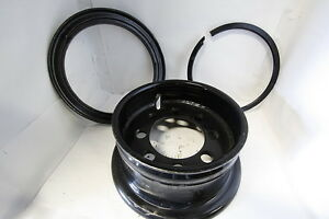 5 00x12 Forklift Industrial Wheel For 7 00x12 Pneumatic Tire 5 Rim