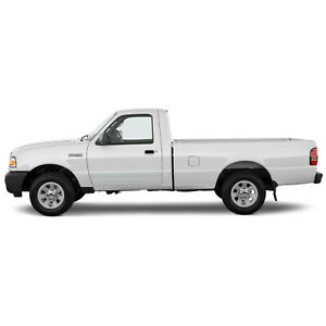 For Ford Ranger Standard Cab Painted Body Side Mouldings Trim 2008 2012
