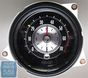 1970 72 Oldsmobile Cutlass 442 Tic Tock Tachometer Only